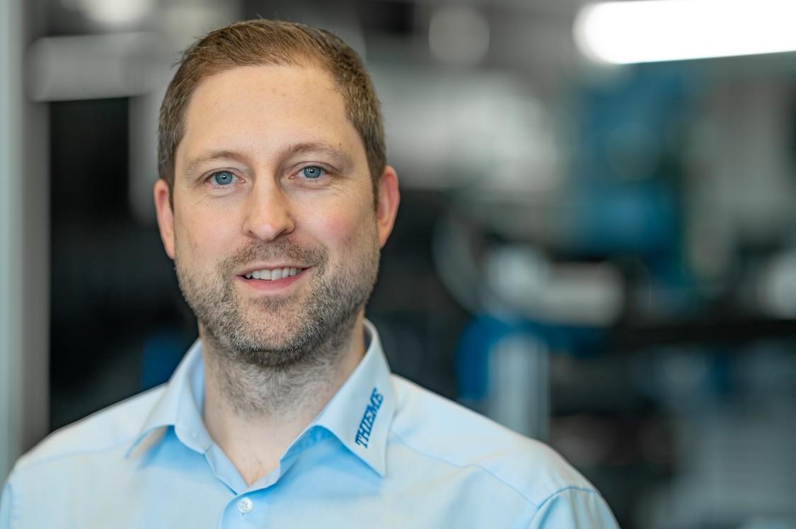 Tobias Rist, Leiter Entwicklung und Konstruktion, Thieme GmbH & Co. KG