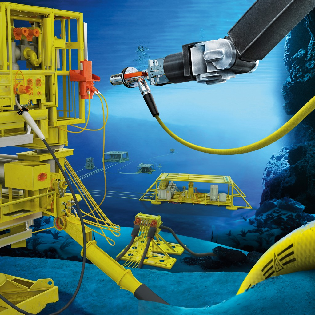 Automated operations on the seabed