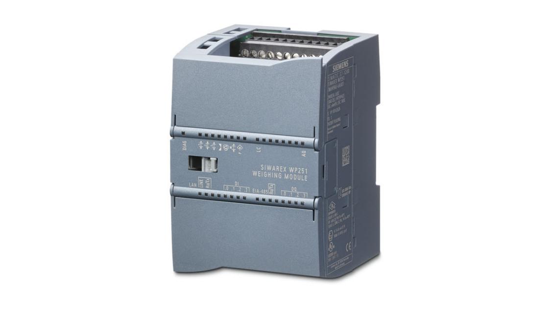 SIWAREX WP251 weighing module