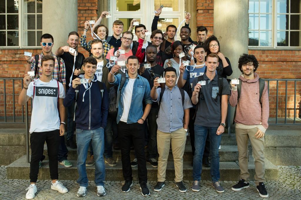 Neue internationale Ausbildungsklasse startet in Berlin