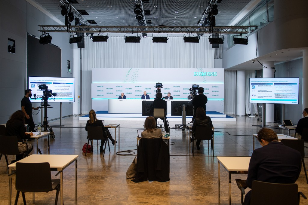Due to the restrictions imposed on public events by the coronavirus crisis, the Annual Press Conference 2020 will be held in a virtual-only format at the Siemens Headquarters in Munich, Germany.