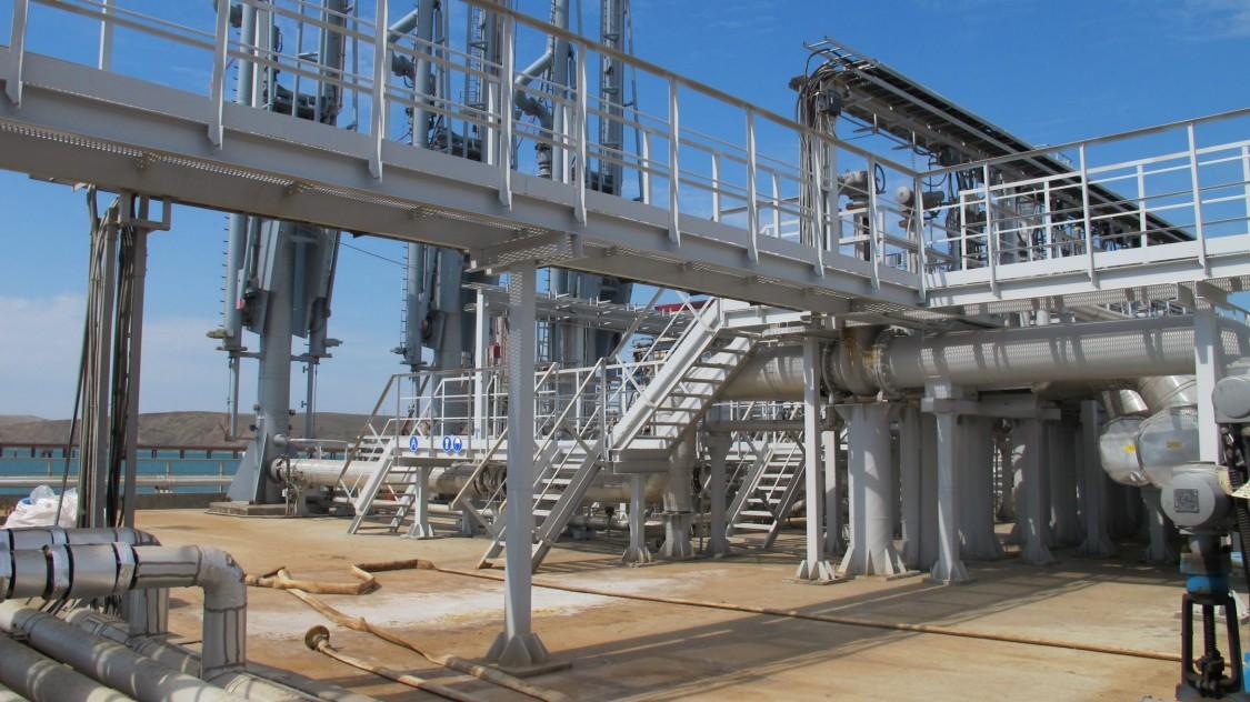 Перевалочный терминал сжиженных углеводородных газов (СУГ)