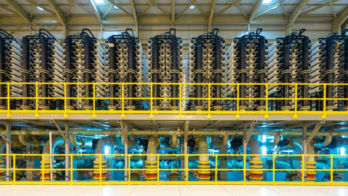Siemens lieferte die Elektro-, Automatisierungs- und Instrumentierungspakete für eine solarbetriebene Entsalzungsanlage in Al Khafji, Saudi-Arabien