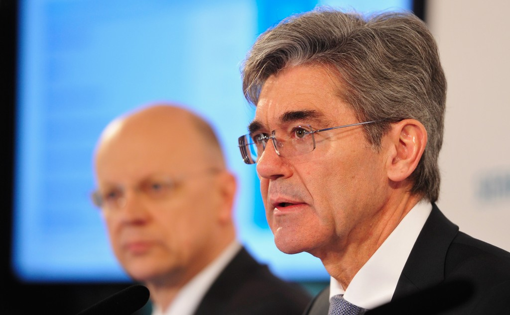 Pressekonferenz der Siemens AG: Geschaeftszahlen fuer das 1. Quartal 2014