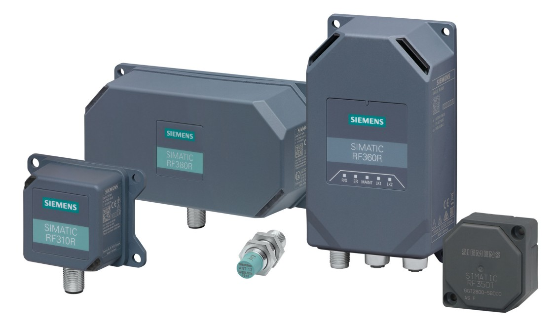 Family picture of the SIMATIC RF300 series products