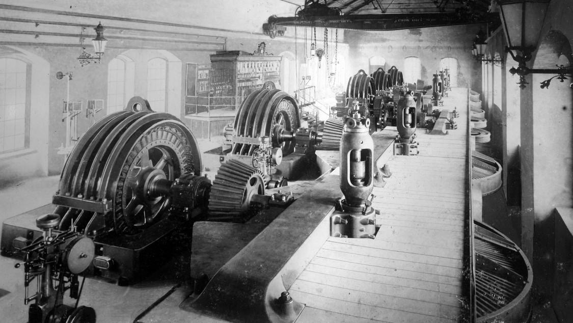 Wynau Maschinensaal, 1899