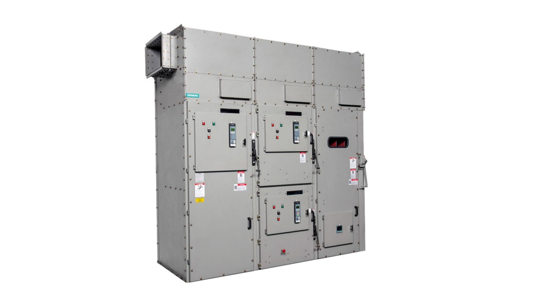 Medium-voltage motor control