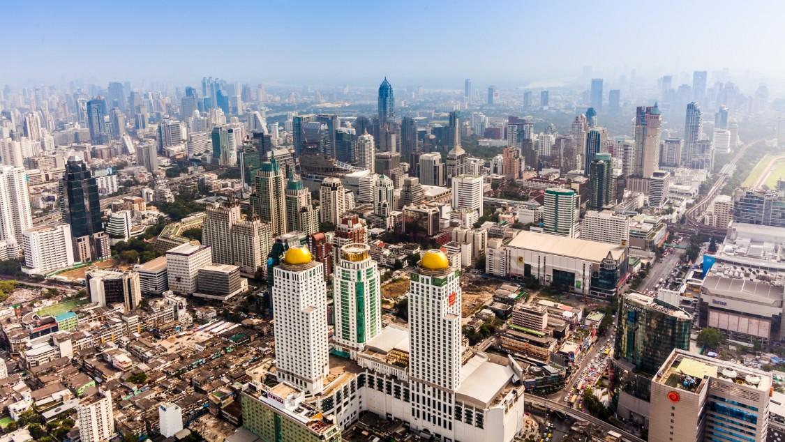 Metro trains for Bangkok's Green Line