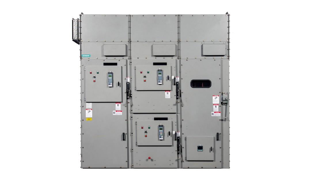 SIMOVAC-AR arc-resistant medium-voltage motor controller