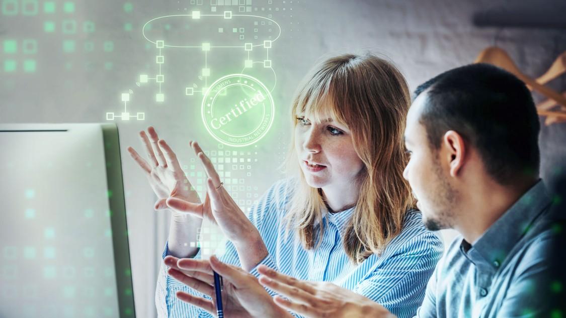 Zertifiziertes Fachwissen für die Umsetzung und Optimierung von industriellen Kommunikationsnetzwerken