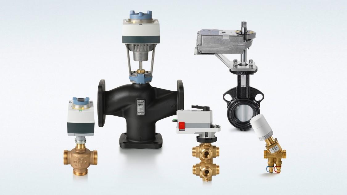 Acvatix Stellantriebe Antriebe Ventile Regeltechnik Hydraulik