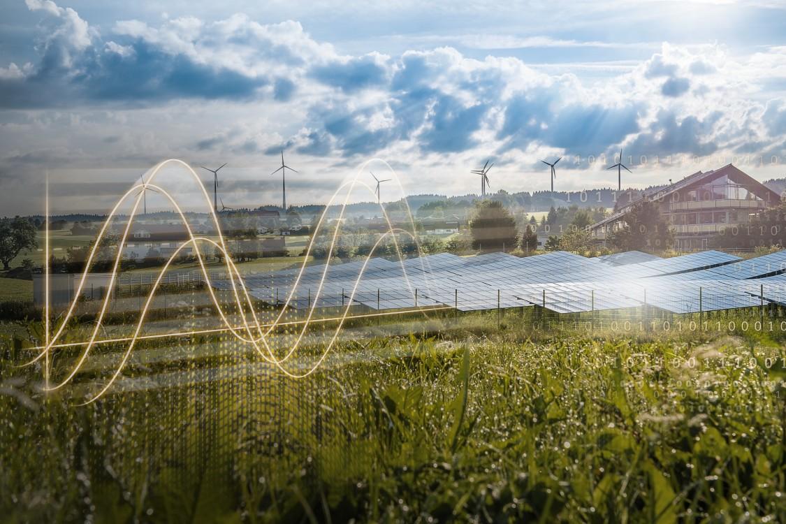 PV Feld und Windenergie für Wildpoldsried