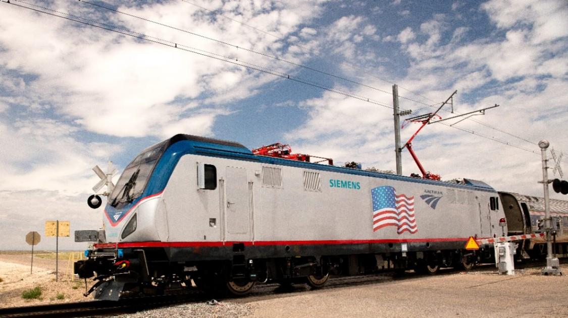 Siemens ACS-64 electric locomotive