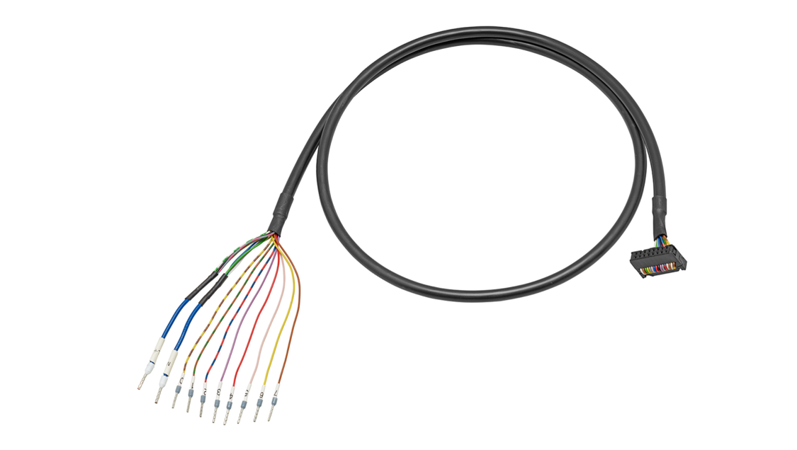 SIMATIC TOP connect universal connecting cables for SIMATIC S7-1200, 25-mm-S7-1500, ET200 MP and LOGO!