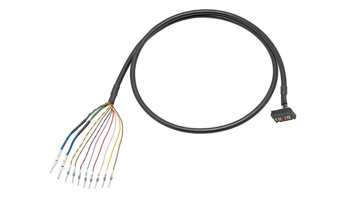 Universelle Verbindungsleitungen SIMATIC TOP connect für SIMATIC S7-1200, 25-mm-S7-1500, -ET200 MP und LOGO!