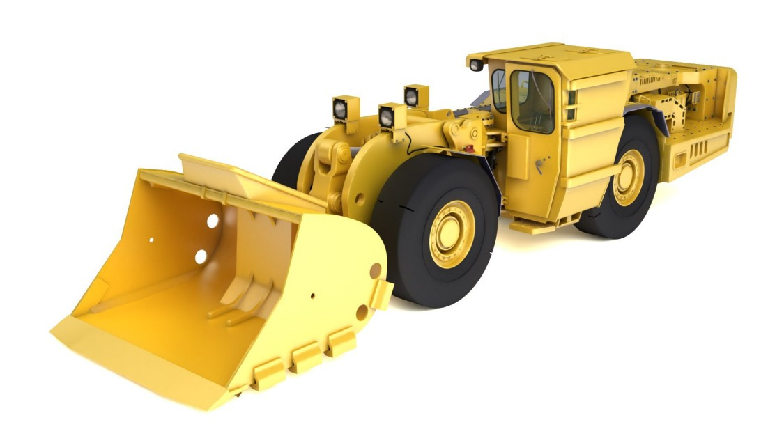 Image of a Load-Haul-Dump machine (LDH)