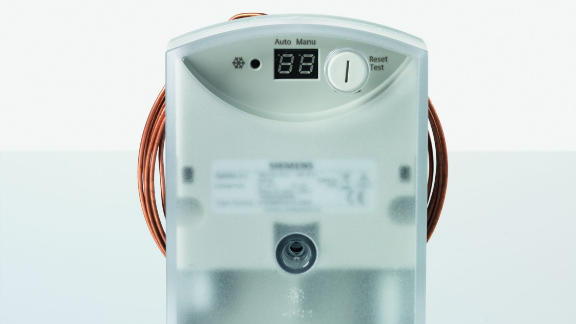 Siemens Capillary and Clamp-on Thermostats
