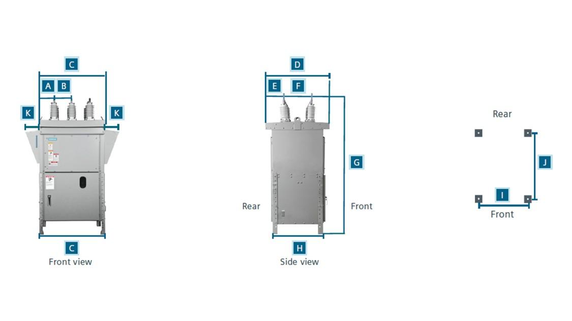 SDV7 non-arc-resistant and SDV7-AR arc-resistant medium-voltage outdoor distribution circuit breakers