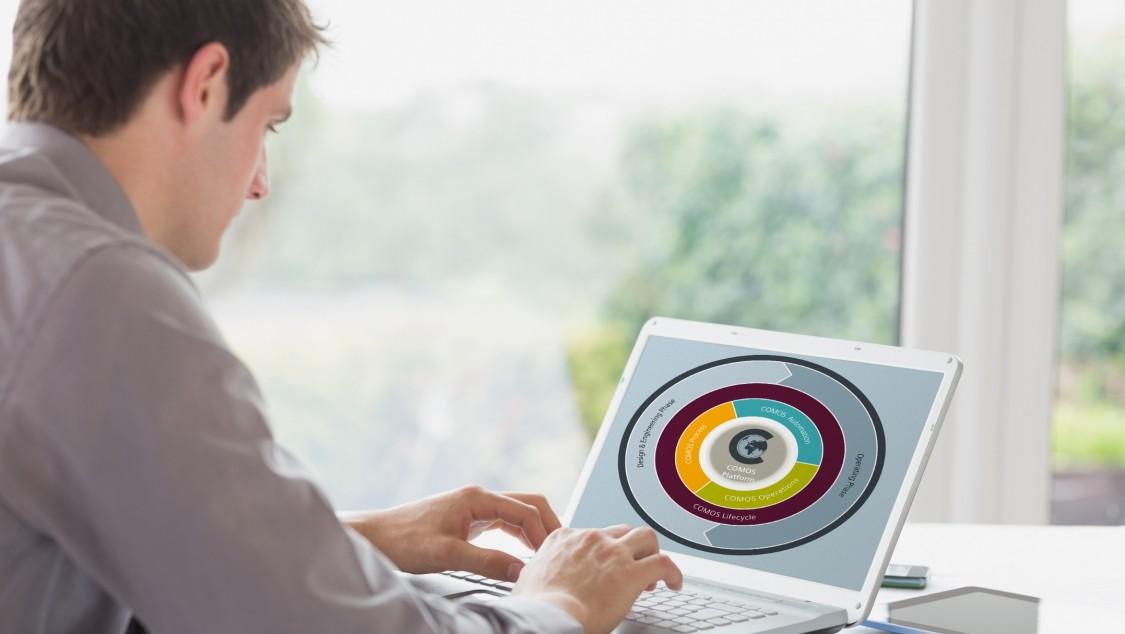 COMOS Platform 支持全球化、多地点协作。