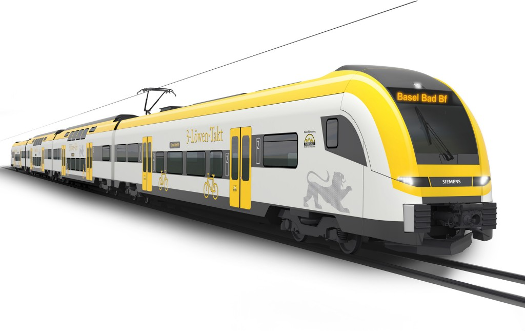 The Desiro HC for Baden-Wuerttemberg