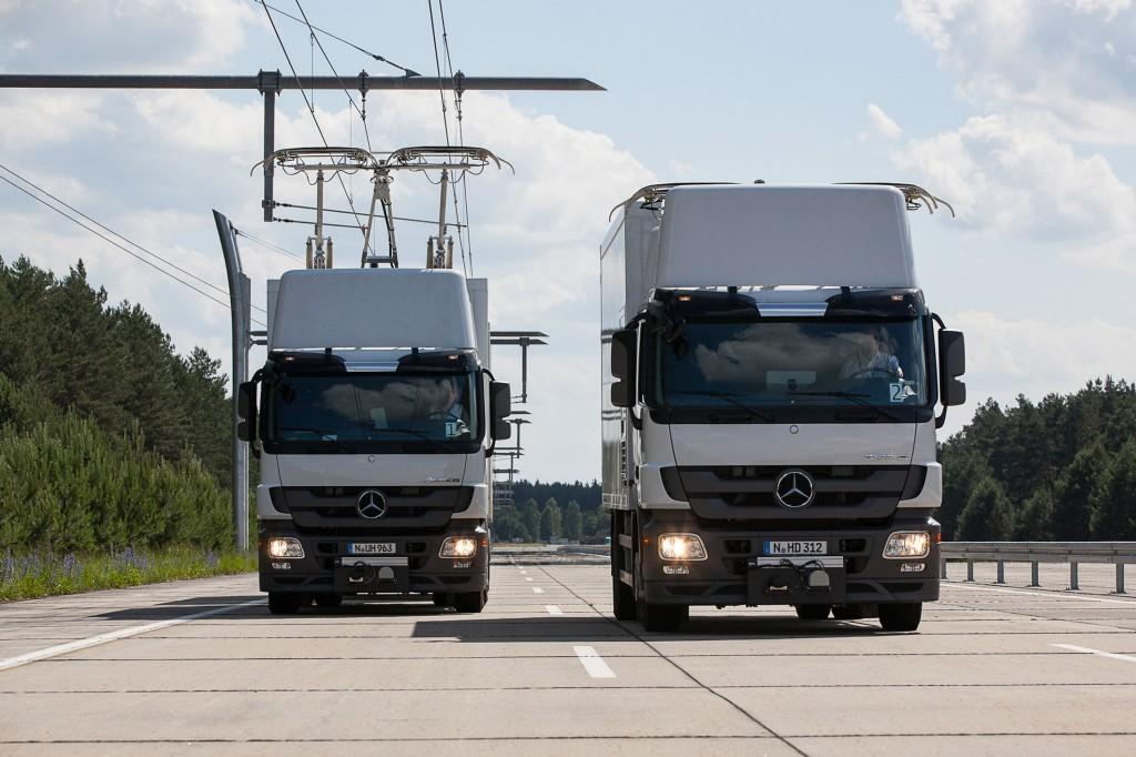 Siemens bouwt eHighway in Duitsland