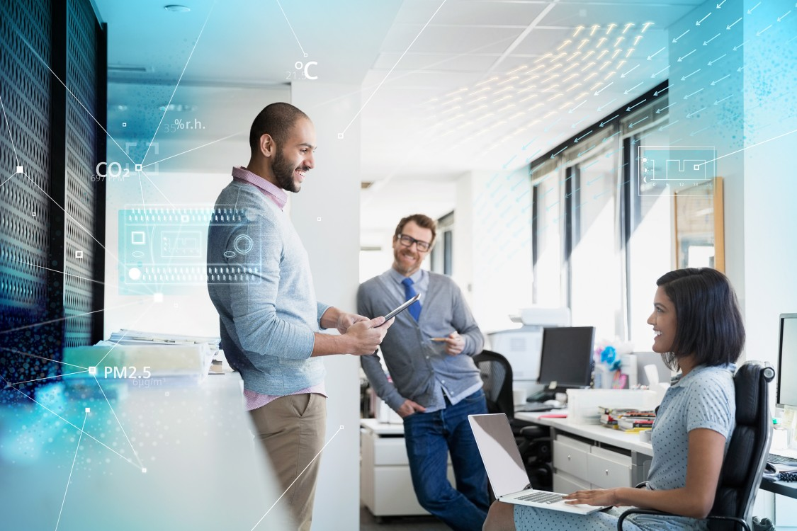 Siemens healthy and productive rooms - Enhance building occupant health and productivity