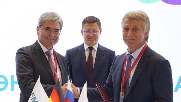 «Сименс» и «НОВАТЭК» подписали стратегическое соглашение о сотрудничестве
