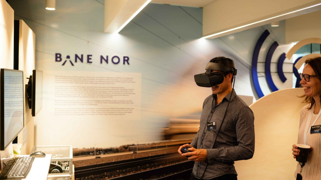 ERTMS Virtual Reality at Campus Nyland