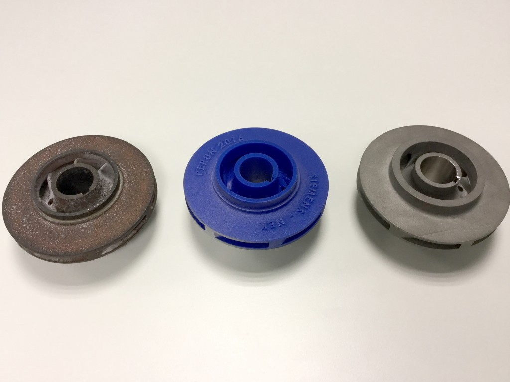 First 3D-Printed Replacement Part Operating in NPP