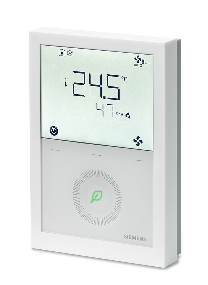 New Siemens thermostat range communicates and saves energy