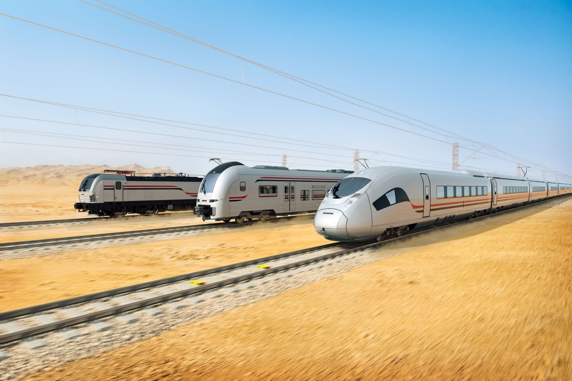 Trains in Egypt