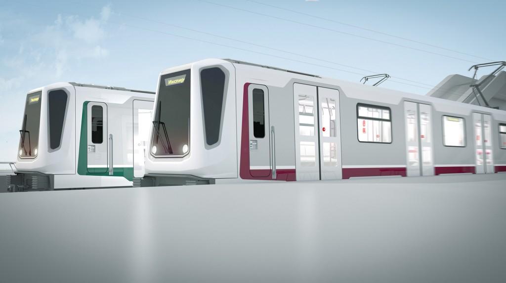 Rendering new metro line Sofia