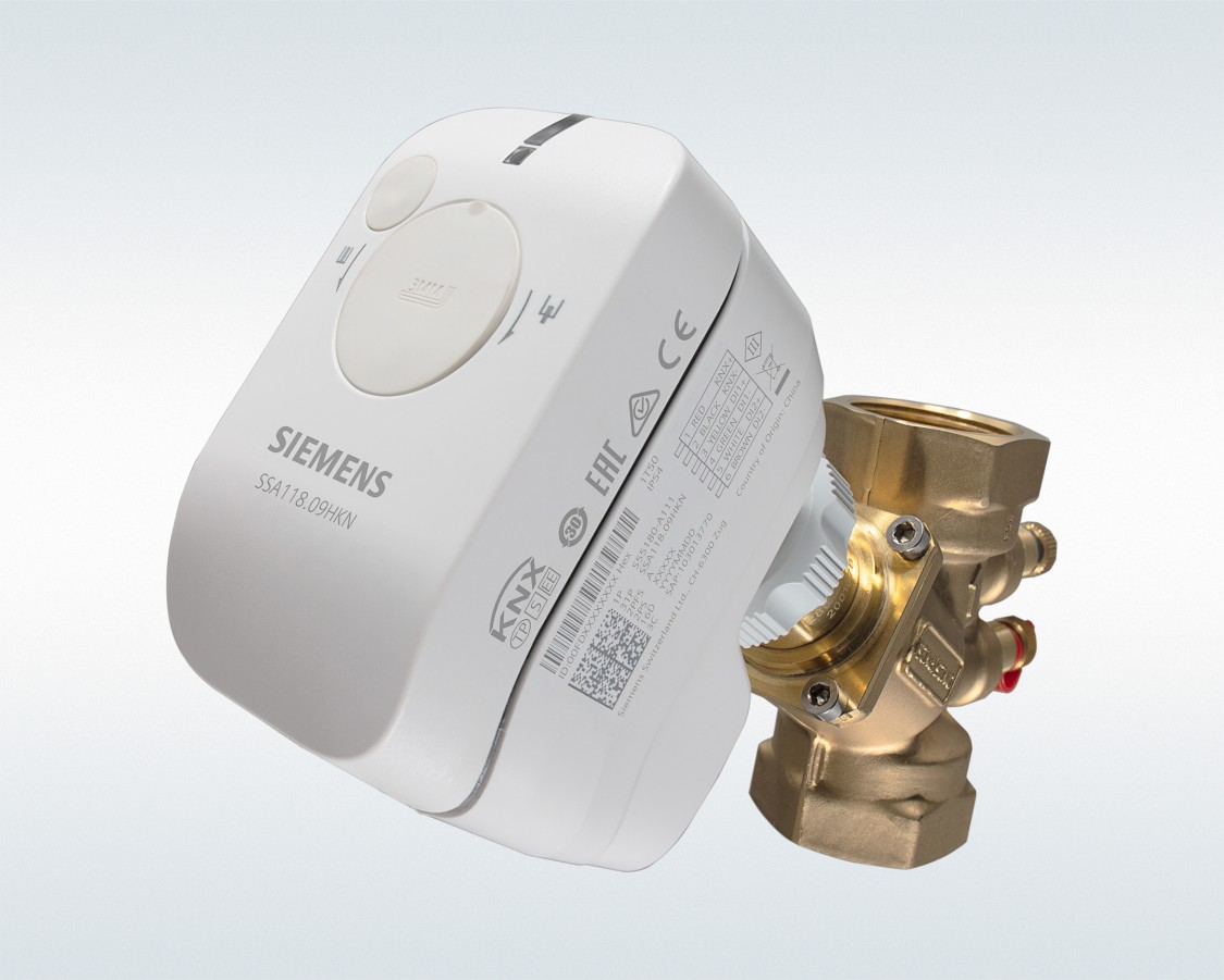 SSA actuator line for small valves