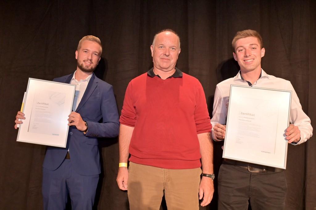 Jungforscher gewinnen Siemens Excellence Award
