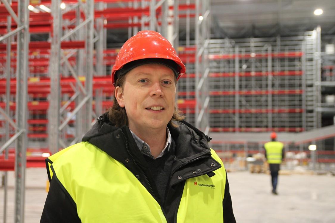 Daniel Lundquist har många års erfarenhet av automation på Siemens och ska hjälpa till att höja kompetensen inom Elektroskandia.