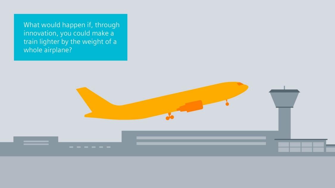 W porównaniu z innymi szybkimi pociągami, Velaro Novo jest naprawdę lekki: Jego ciężar został zredukowany o ponad 70 ton do nieco ponad 400 ton, co stanowi przybliżoną wagę jednego samolotu średniego zasięgu.