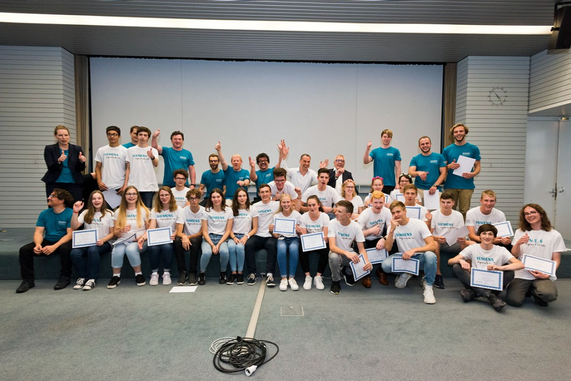 Siemens Engineering Summer Camp 2019, Gruppenfoto