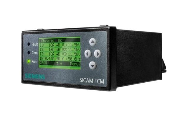 Wskaźnik przepływu prądu zwarciowego dla kabli SICAM FCM