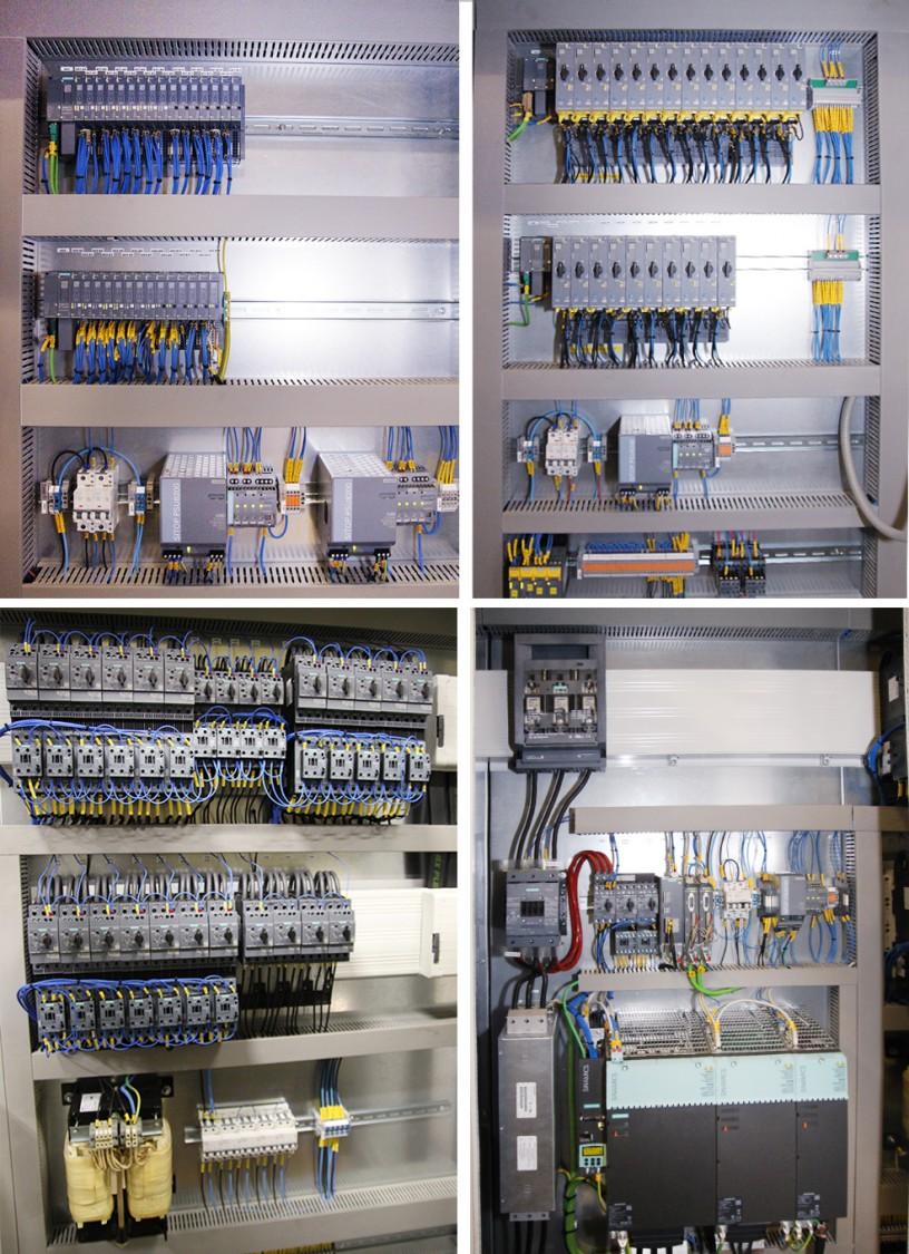 …modern automations- och drivteknik och moderna startapparater.