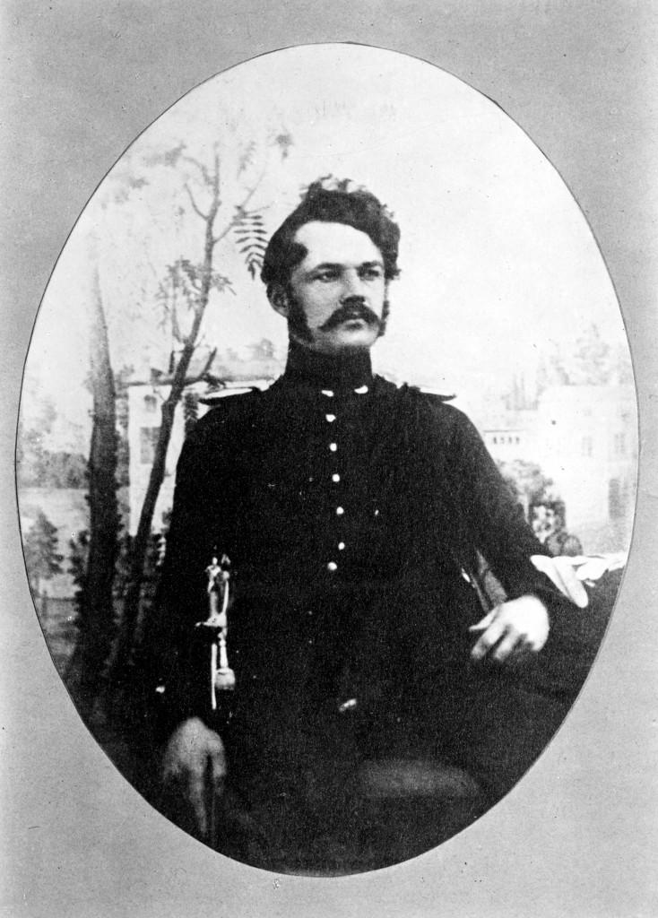 Werner von Siemens als Artillerieoffizier, um 1843