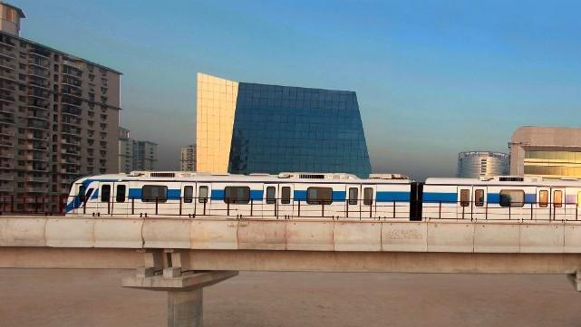 Metro image in India