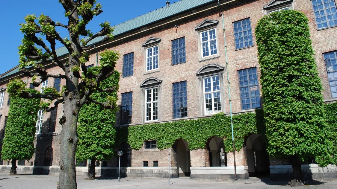 Das königliche Archiv, Kopenhagen, Dänemark