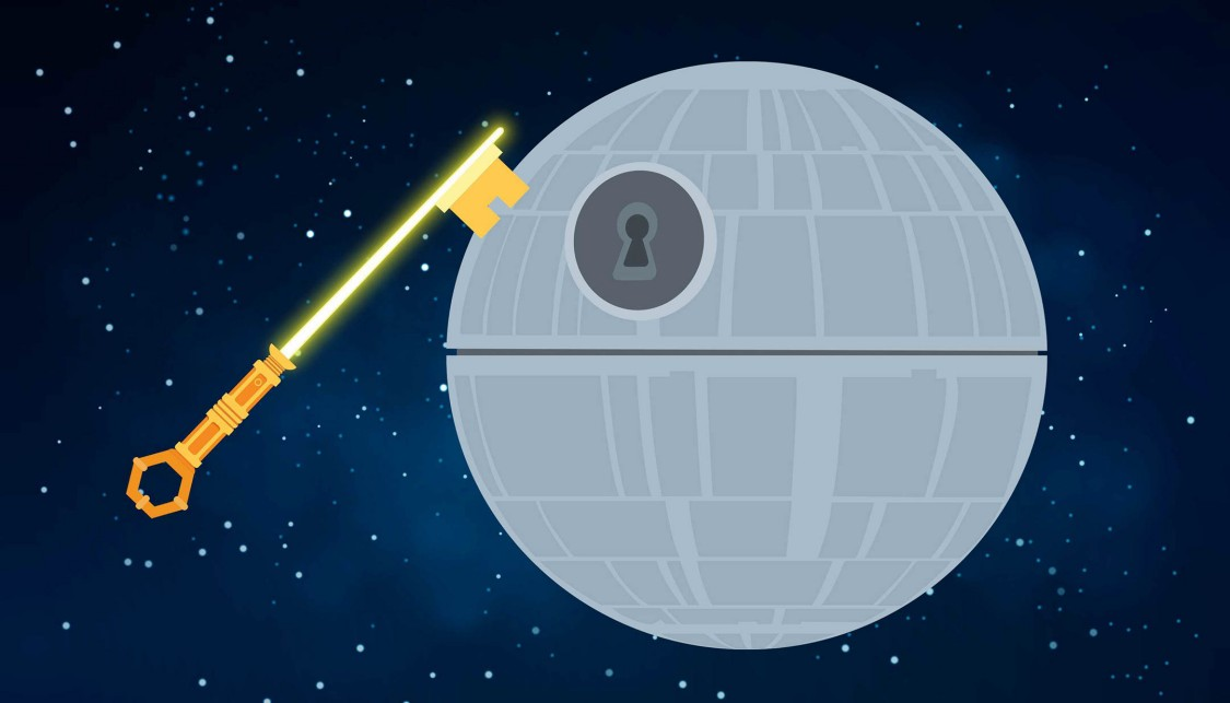 Etoile de la mort Cybersécurité