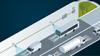 Nákladní vozidla v tunelu kontrolována systémem PoE komunikací v průmyslové dopravě