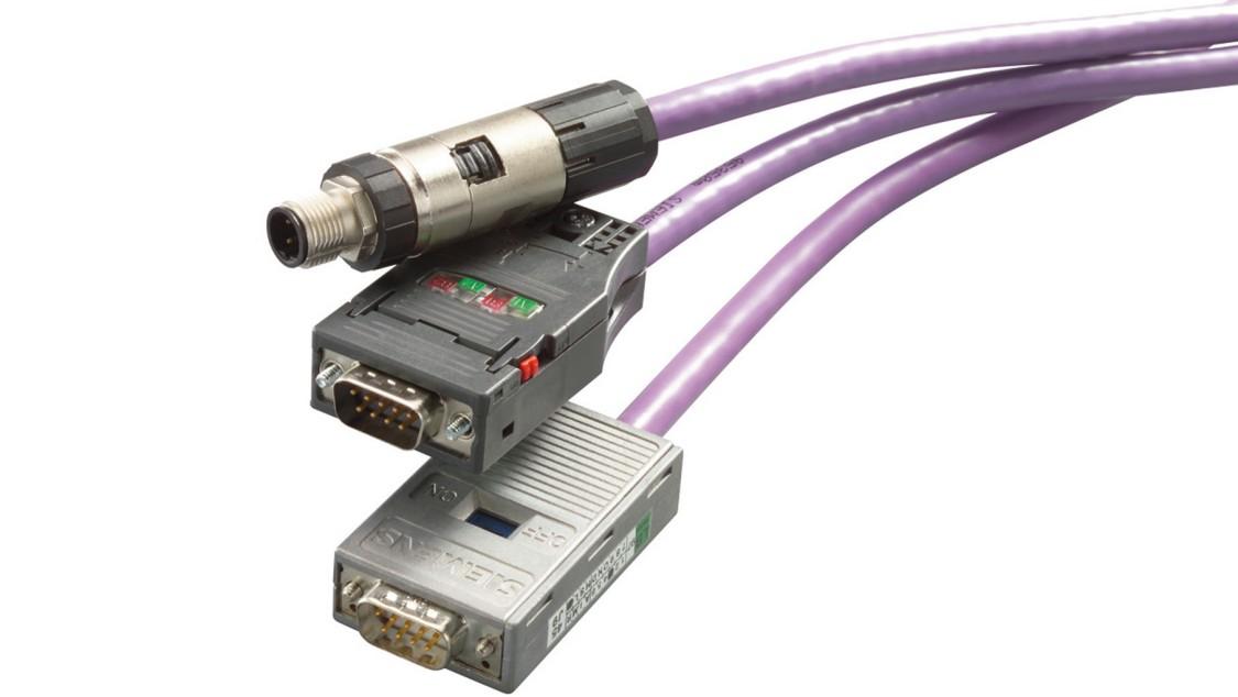 Assembled Siemens PROFIBUS cables