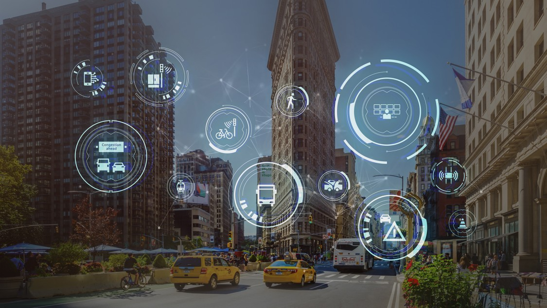 Connected Mobility makes transport systems ready for the next mobility revolution.