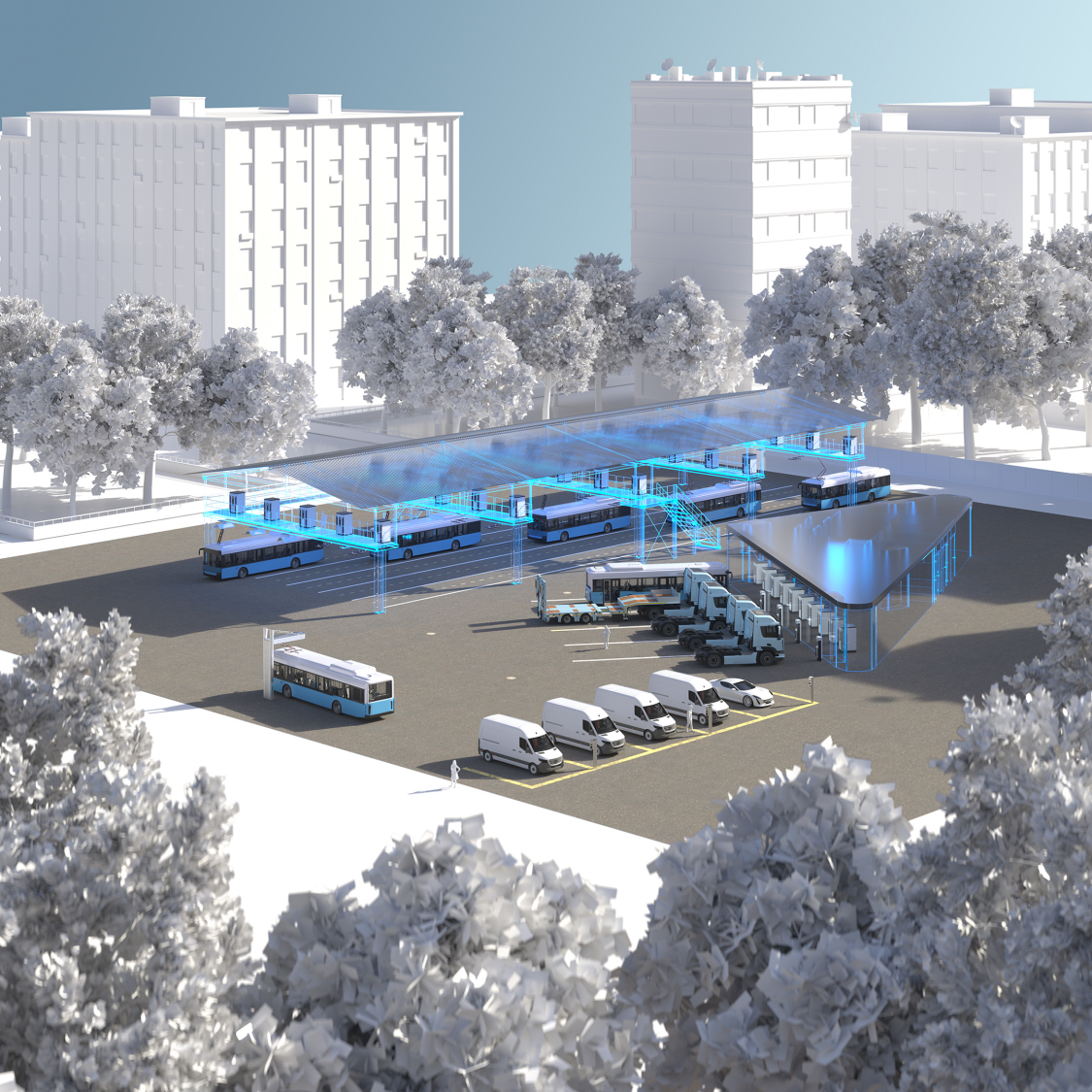 Electrified fleet – sustainable transport