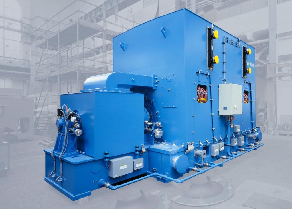 Siemens Large Drives Applications Simotics HV motor