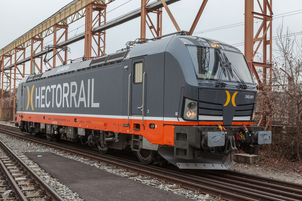 Hector Rail orders 15 locomotives from Siemens