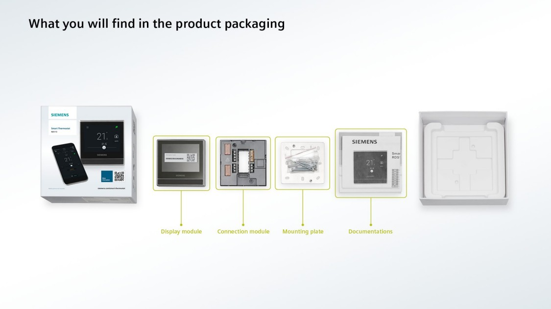 What you can find in the product packaging